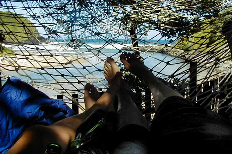 Transkei - chill in hammock